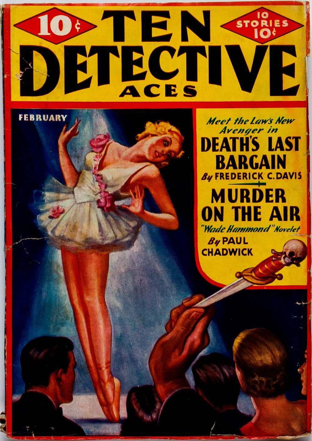 Ten Detective Aces February 1936